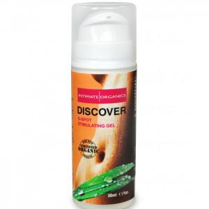 G-spot gel från Intimate Organics är organisk, ger orgasm lätt och chockar!