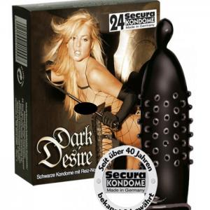 Knottriga kondomer i cylinderform!