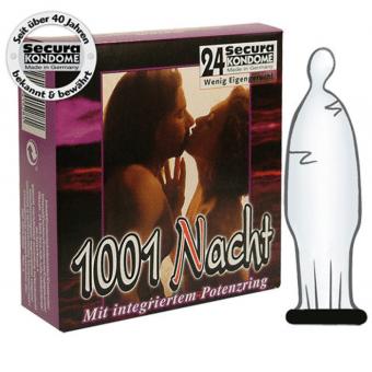 Kondompaket från Secura! Kondomer med potensring