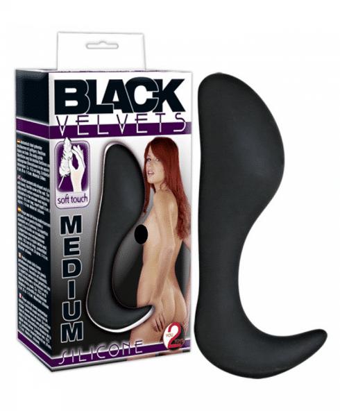 Black Velvets Medium från You2Toys med silkeslen yta för lättare hantering