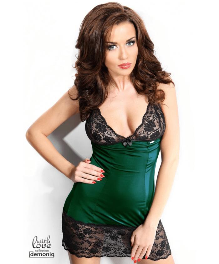 Demoniq Rachel Dress Grön