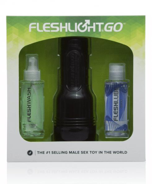Go Surge Fleshligt omslag med produkt