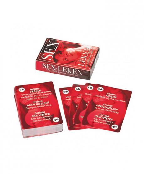 Sexleken hjälper er till fler snuskiga lekar i sänghalmen!
