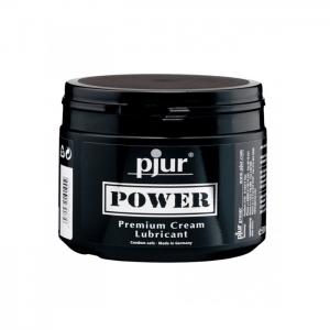 Pjur Power Premium glidmedel och kondom kan äntligen fungera tillsammans.
