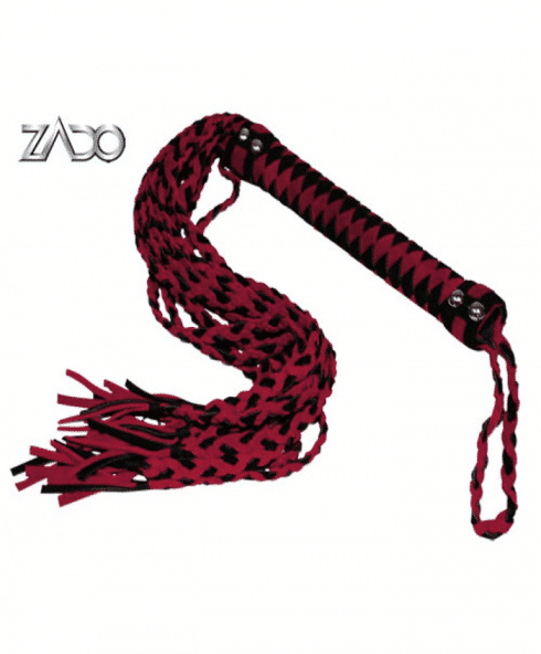 BDSM piska från Zado som är gjord av mocka - Stadigt handtag!