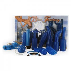 Blue fantasy set sexleksaker!