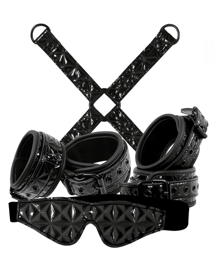 Sinful Bondage Kit Black kinky sexlekar