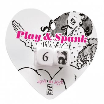 Play & Spank Tärningsspel för två