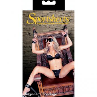 Bondage för nybörjare har aldrig varit lättare än med kittet från Sportsheet!