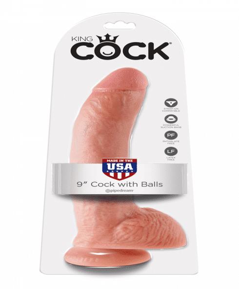 Pipedram King Cock - en grymt stor dildo