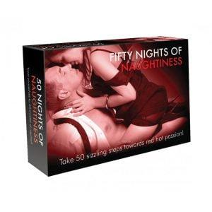 Fifty Days of Naughtiness är ett snuskigt spel för sugna par!