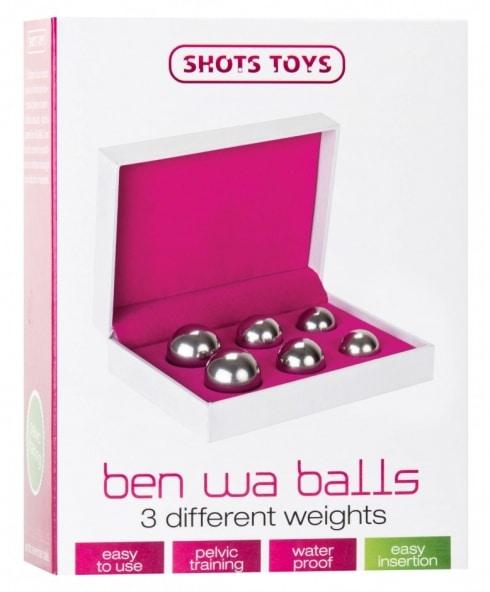 Få stark bäckenbotten med Ben Wa Balls!