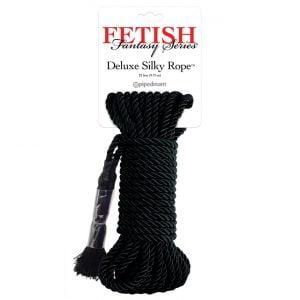 Slitstarkt silkesrep från Fetish Fantasy!