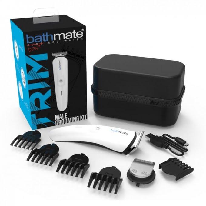 Manscaping med moderna Bathmate Trim som laddas med USB-sladd!