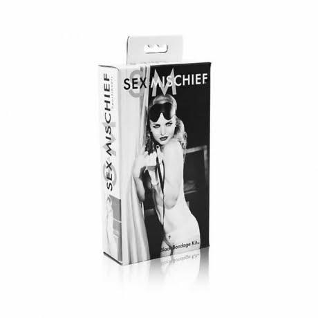 Bondage Kit från Sex & Mischief i flera delar höjer det sexuella taket!