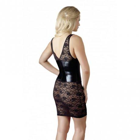 latex dress sexiga underkläder set