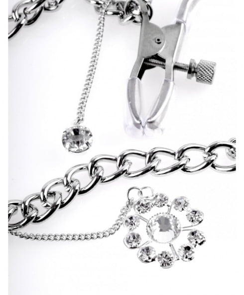 Crystal Nipple Clamps