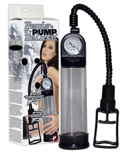 You2Toys Penispump Deluxe med tryckmätare & mätskala! Mät ökningen!