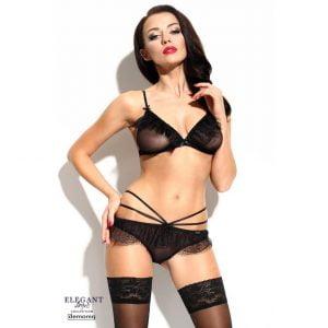 Fabienne Svart Set porrigt set underkläder
