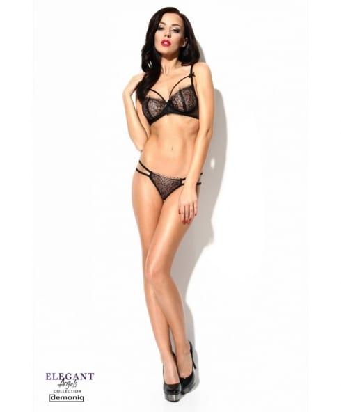Jovite Black Set sexiga underkläder