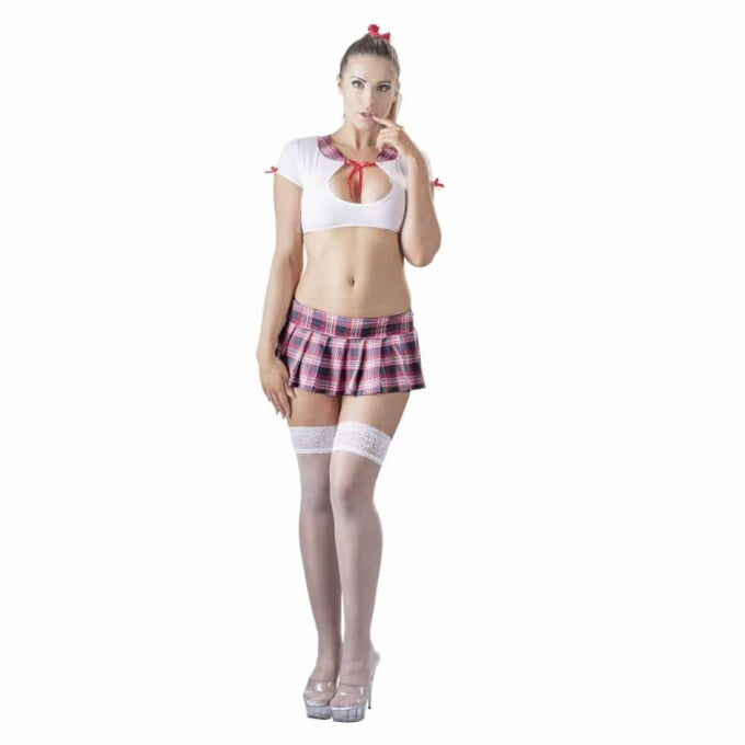 Horny Schoolgirl Outfit - Testa rollspel med den du älskar!