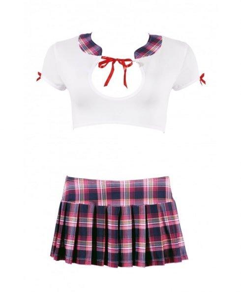 Horny Schoolgirl Outfit