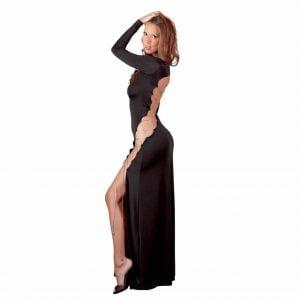 Svart långklänning från Cottelli Collection som du bara måste ha!