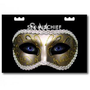 Sex & Mischief Masquearade maskeradmask e lika cool som den är läbbig!