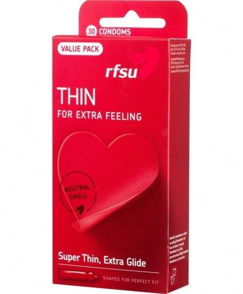 Tunna kondomer från RFSU!