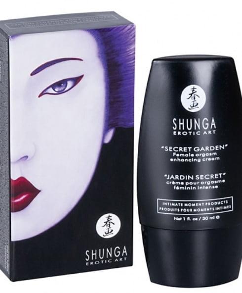 Shunga Orgasmkräm ger dig ökad känsel på klitoris!