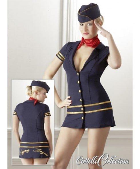Flygvärdinna Outfit - Sexiga rollspelskläder från Cottelli!