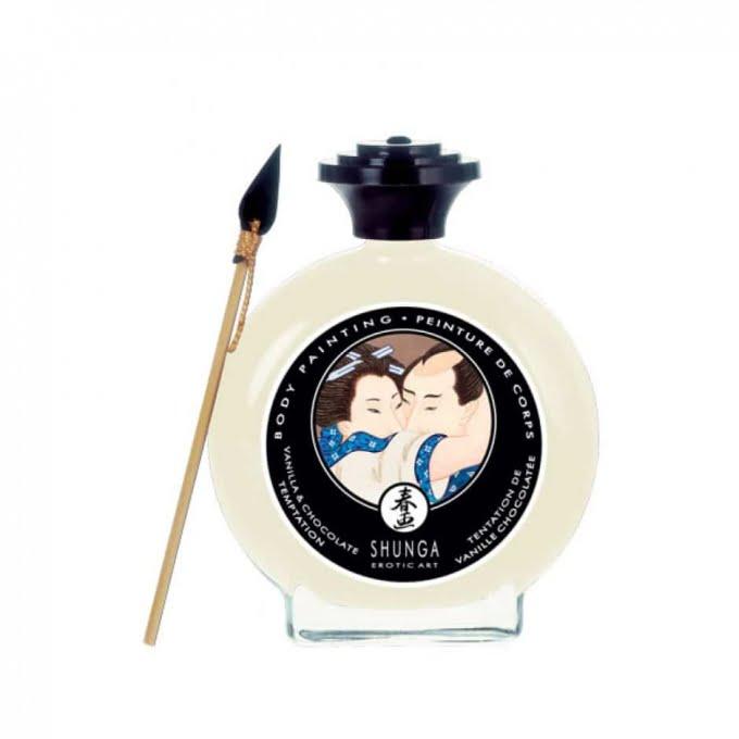 Shunga Body Painting ätbara kroppsfärger för romantiskt förspel!