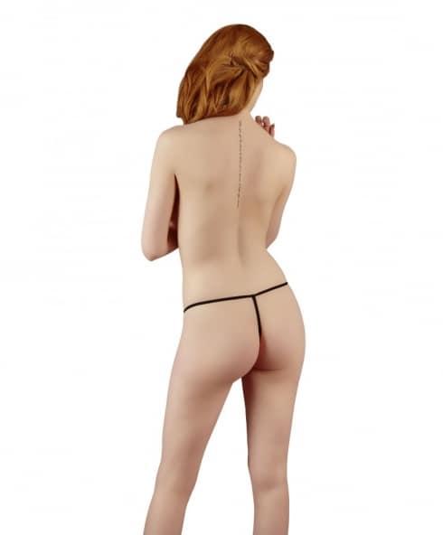 Pink Lace Stringtrosor