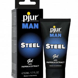 Pjur Man Steel massagegel med paprikaextrakt