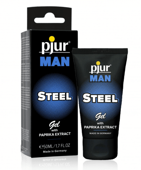 Pjur Man Steel massagegel med paprikaextrakt