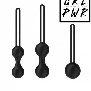GRL PWR kegelkulor, optimalt för kegelövningar och bäckenbotteträning!