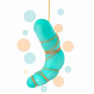 Formbar dildo som du kan forma hur du vill - The Dodil Dildo 19 CM!