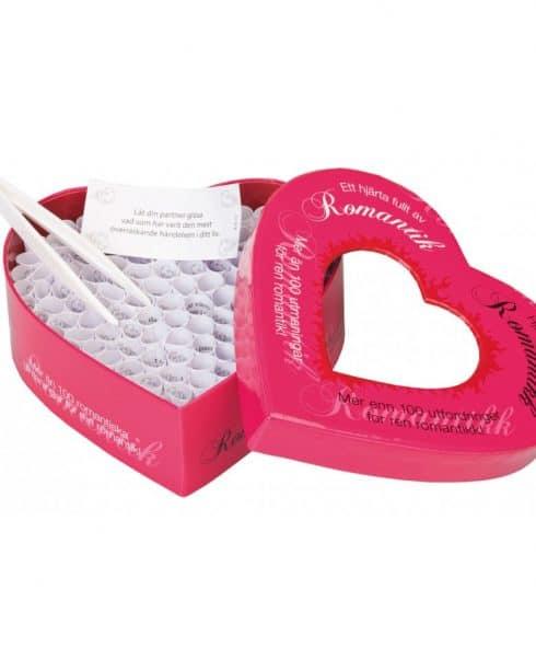 Romantic Heart 100 utmaningar är spelet för dig som älskar någon högt!