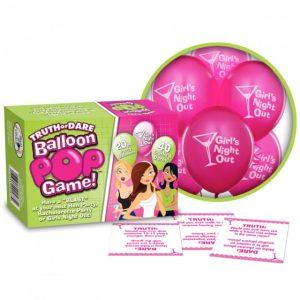 Ball And Chain Truth Or Dare Balloon Pop Game är tjejspelet du älskar!