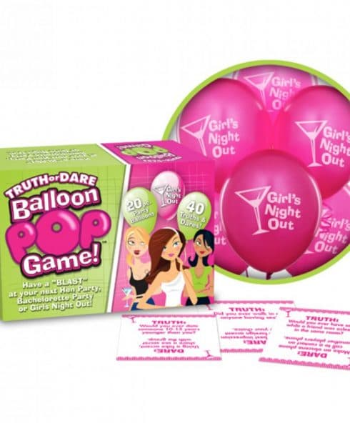 Ball And Chain Truth Or Dare Balloon Pop Game är tjejspelet du älskar!