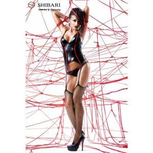Emi Shibari från Demoniq är ett sexigt svart klädset med perfekt passform!